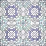 Old ceramic tiles patterns Royalty Free Stock Image