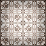Old ceramic tiles patterns handicraft from thailand In the park Stock Photography