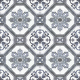 Old ceramic tiles patterns handicraft from thailand In the park Royalty Free Stock Photos