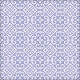 Old ceramic tiles patterns  in the park public. Stock Photo