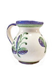 Old ceramic water pitcher Royalty Free Stock Photos