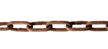 Old chain Royalty Free Stock Photo