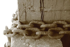 Old chain Stock Image