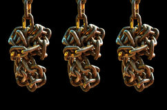 Old chain Stock Images