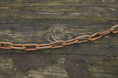 Old chain Royalty Free Stock Images