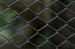 Old chain link fence Stock Photography