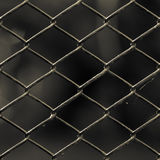 Old chain link fence Stock Photo