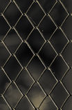 Old chain link fence Royalty Free Stock Photo