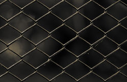 Old chain link fence Royalty Free Stock Images