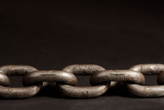 Old chain links Stock Image