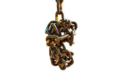 Old chain Royalty Free Stock Photos