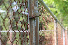 Old Chainlink Fence Royalty Free Stock Photo