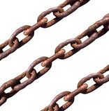 Old chains macro Royalty Free Stock Photography