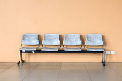 Old chair in the Building. Royalty Free Stock Photos