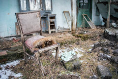 Old chair - Home Improvement Needed Stock Photography