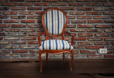 Old chair. Royalty Free Stock Photo