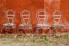 Old chairs Royalty Free Stock Photo