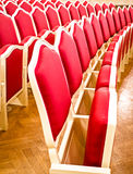 Theater. Old chairs at a theater Royalty Free Stock Photography