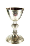 Old Chalice. On white background stock images
