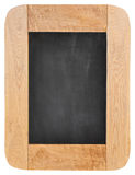 Old chalk board with wood frame Royalty Free Stock Photo