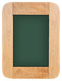 Old chalk board with wood frame Stock Image