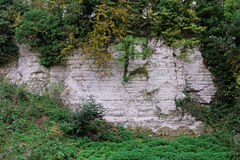 Old Chalk Quarry Royalty Free Stock Photo