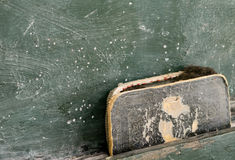 Old Chalkboard Eraser Royalty Free Stock Image