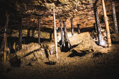 Old chamber in a Silver Mine, Tarnowskie Gory, UNESCO heritage site Stock Photos