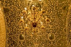 Old chandelier Golestan Palace Royalty Free Stock Photo