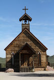 Old Chapel. An old chapel at Goldfield in Arizona Royalty Free Stock Photos