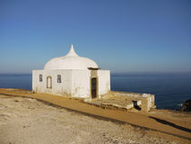 Old Chapel, Cape Espichel, Portugal Royalty Free Stock Photography