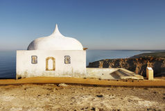 Old Chapel, Cape Espichel, Portugal Royalty Free Stock Photos