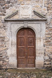 Old Chapel Door Royalty Free Stock Photos