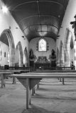 Old chapel interior Stock Photography