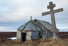 Old chapel in the north Royalty Free Stock Images