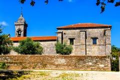 Old chapel Santa Susana Royalty Free Stock Images