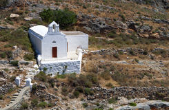 Old chapel at Syros island, Greece Royalty Free Stock Photography