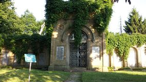 Old chaple in Germany. Drow past this old caple in Noth/East Germany Stock Photo