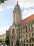 Old Charlottenburg-Wilmersdorf rathaus Stock Photo