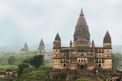 Old Chaturbhuj Hindu Temple, Orchha, India Royalty Free Stock Image