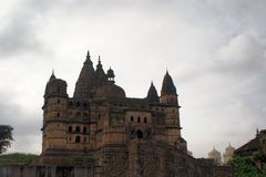 Old Chaturbhuj Hindu Temple, Orchha, India Royalty Free Stock Photo