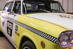 Old Checker Cab Stock Images