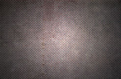 Old checker plate background Stock Photo