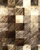 Old checkered floor Stock Images