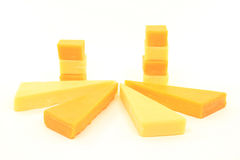 Old Cheddar Cheese. Royalty Free Stock Images