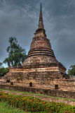 Old chedi in Sukhothai, Thailand Royalty Free Stock Images