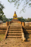 Old Chedi in Wiang Kum Kam, Ancient City Royalty Free Stock Photo
