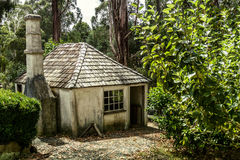 Pioneer cottage. Old cheese making cottage at Coal Creek, Korumburra, Australia royalty free stock photos