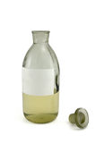 Old chemical bottle Stock Image