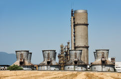 Old chemical plant Royalty Free Stock Image